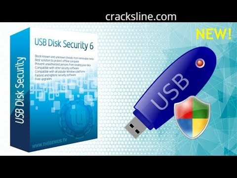 USB Disk Security Crack 6.8 With Serial Key Latest