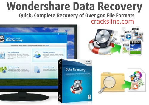 Wondershare Data Recovery Full Crack + License Key Download