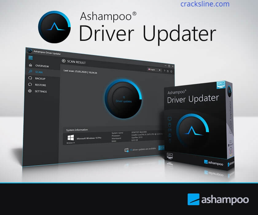 Ashampoo Driver Updater 1.3.0.0 Crack + Serial Key [Updated]