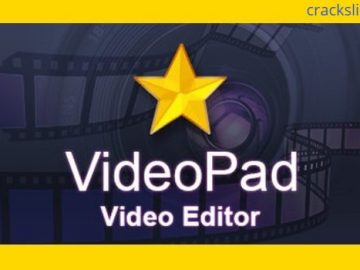 VideoPad Video Editor Pro 8.75 Full Crack Free Download