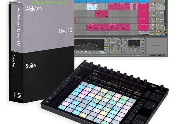 Ableton Live 10.1.25 Crack Plus Keygen & Torrent logo