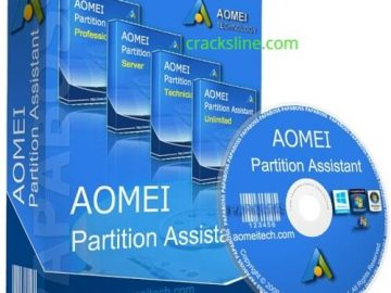 AOMEI Partition Assistant 8.10 With Crack Download logo