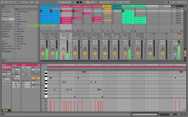 Ableton Live 10.1.25 Crack Plus Keygen & Torrent