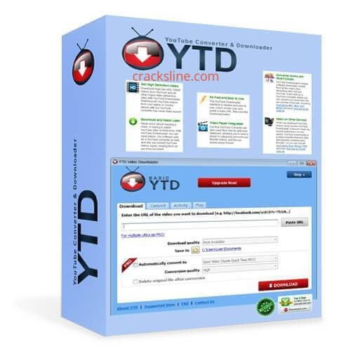 YTD Video Downloader PRO Crack With Serial Key 2020 logo