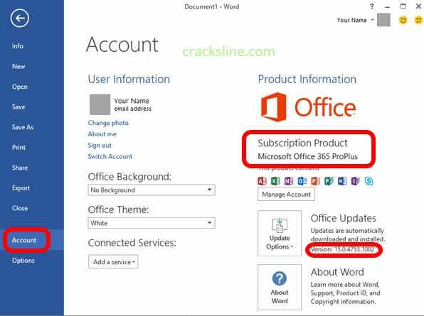 Microsoft Office 365 Product Key Plus Crack